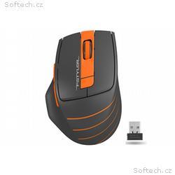 A4tech FG30B, FSTYLER bezdrátová myš, oranžová