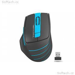 A4tech FG30B, FSTYLER bezdrátová myš, modrá