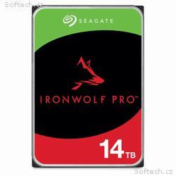 "SEAGATE HDD IRONWOLF PRO (NAS) 3,5"" - 14TB, SATAII"