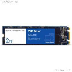 WD BLUE SSD 3D NAND WDS200T2B0B 2TB M.2, (R:560, W