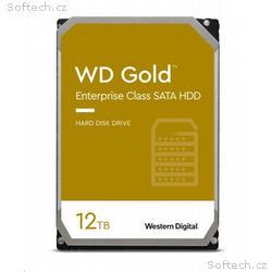 WD GOLD WD121KRYZ 12TB SATA, 6Gb, s 256MB cache 72