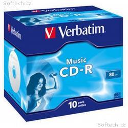VERBATIM CD-R(10-pack)Audio, Live it!, Colour, Jew