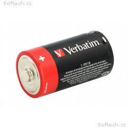 VERBATIM Alkalické baterie C, 2 PACK, LR14