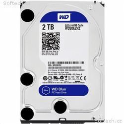 WD BLUE WD20EZAZ 2TB SATA, 600 256MB cache 5400 ot
