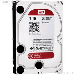WD RED PLUS NAS WD10EFRX 1TB SATA, 600 64MB cache
