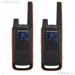 Motorola vysílačka TLKR T82 (2 ks, dosah až 10 km)