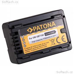 PATONA baterie pro foto Panasonic VW-VBT190 1780mA