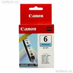 Canon inkoustová náplň BCI-6PC, Foto modrá