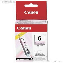 Canon inkoustová náplň BCI-6PM, Foto magenta
