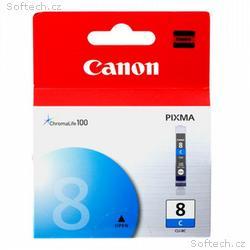 Canon inkoustová náplň CLI-8C, modrá