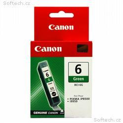 Canon inkoustová náplň BCI-6G, Zelená