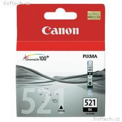 Canon inkoustová náplň CLI-521Bk, černá