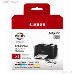 Canon multipack inkoustových náplní PGI-1500XL C+M