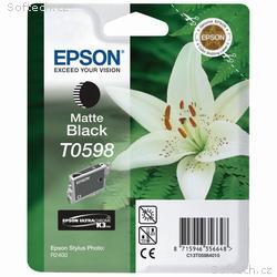 Epson inkoustová náplň, C13T059840, R2400, Matná č