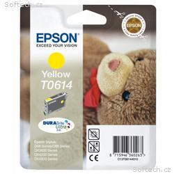 Epson inkoustová náplň, C13T061440, Stylus D68, D8