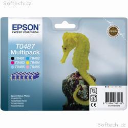 Epson inkoustové náplně - MULTIPACK, C13T04874010,