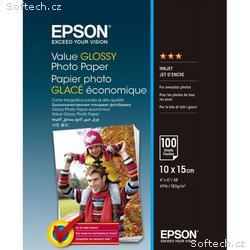 EPSON fotopapír C13S400039, 10x15, Value Glossy Ph