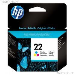 HP (22) C9352AE - ink. náplň barevná, DJ 3920, 394