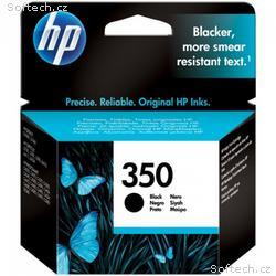 HP inkoustová náplň 350, černá, Vivera originál