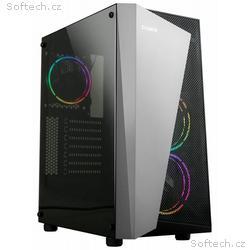 Zalman skříň S4 Plus, Middle tower, ATX, USB 3.0,