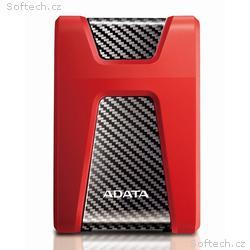 "ADATA HD650 2TB HDD, Externí, 2,5"", USB 3.1, červe"