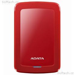 """ADATA HV300 1TB HDD, externí, 2,5"""", USB3.1, červen"""