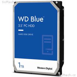 WD HDD BLUE 1TB, WD10EZEX, SATA 6Gb, s, Interní 3,