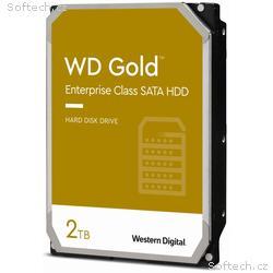 WD HDD GOLD 2TB, WD2005FBYZ, SATA 6Gb, s, Interní,