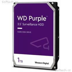 WD HDD PURPLE 1TB, WD10PURZ, SATA 6Gb, s, Interní