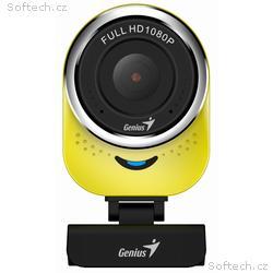GENIUS webová kamera QCam 6000, žlutá, Full HD 108