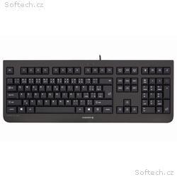 CHERRY klávesnice KC 1000, drátová, USB, černá, CZ