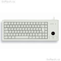 CHERRY klávesnice G84-4400 s trackballem, drátová,