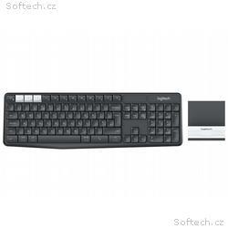 LOGITECH klávesnice K375s + stojan na mobil, table