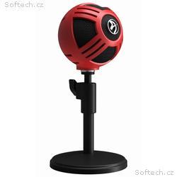 AROZZI mikrofon SFERA, červený