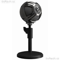AROZZI mikrofon SFERA, stříbrný