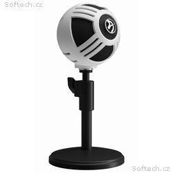 AROZZI mikrofon SFERA, bílý