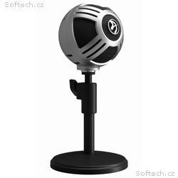 AROZZI mikrofon SFERA PRO, stříbrný