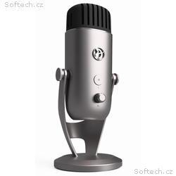 AROZZI mikrofon COLONNA, stříbrný