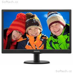 "PHILIPS 19,5"" LED 203V5LSB26, 1366x768, TFT, 16:9,"