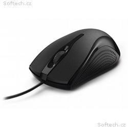 HAMA myš MC-200, drátová, optická, 1200 dpi, 3 tla