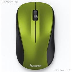 HAMA myš MW-300, bezdrátová, optická, tichá, 1200
