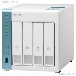 QNAP TS-431K 1,7GHz, 1GBRAM, 4xSATA, 2xGbE, 3xUSB3