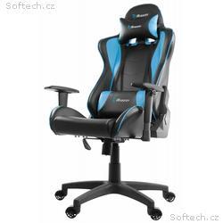 AROZZI herní židle MEZZO V2, černomodrá