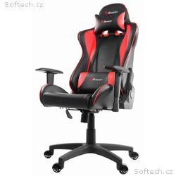 AROZZI herní židle MEZZO V2, černočervená