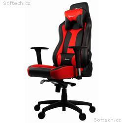AROZZI herní židle VERNAZZA, černočervená