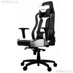 AROZZI herní židle VERNAZZA, černobílá