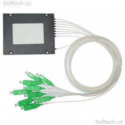 XtendLan Optický rozbočovač 1:8, SC, APC konektory