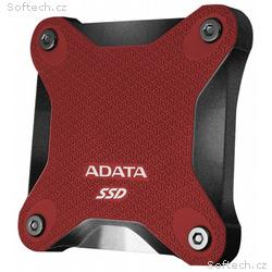 ADATA SD600Q 240GB SSD, Externí, USB 3.1, červený