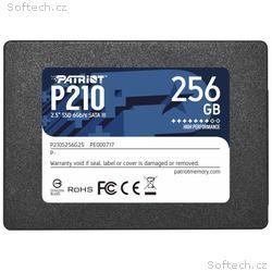 "PATRIOT P210 256GB SSD, 2,5"", Interní, SATA 6GB, s"
