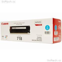 Canon toner CRG-718C, LBP-7200, 7660, 7680, MF-80x